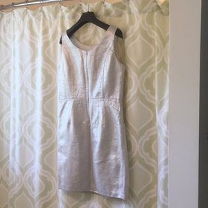 Cocktail dress, silver NWT
